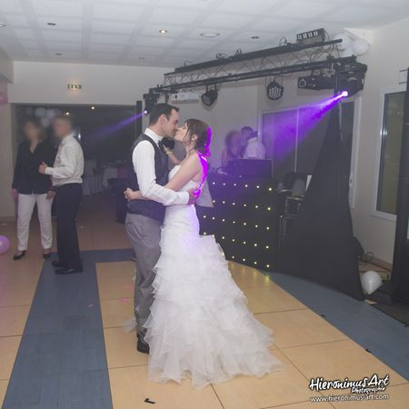 Mariage dance bisou finistere sud