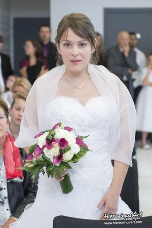 Mariee mairie mariage Mellac Finistere Sud