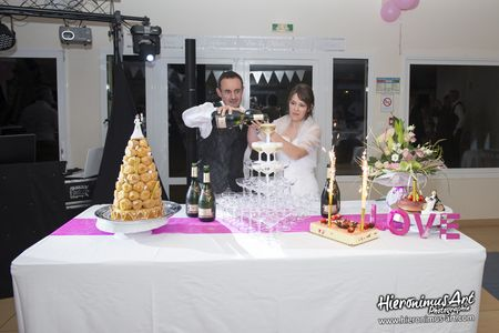 Photographe mariage Finistere Fontaine de champagne